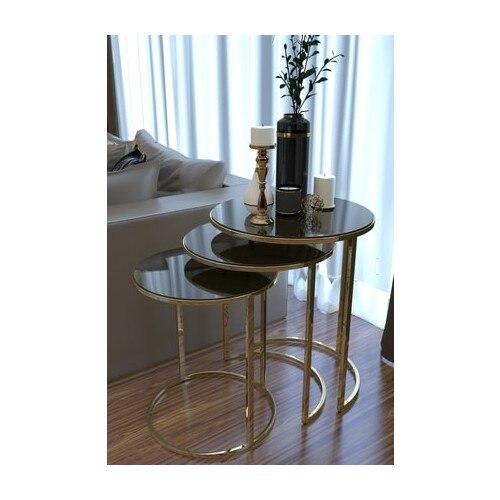 En6 Aynalı Gold Metal Zigon Sehpa Oturma Odası Şık Modern Dekor Dekorasyon Masa modern ahşap kahverengi sehpa kahve sehpası çay sehpası meyve masası kanepe yanı oturma odası için mobilya sehpa
