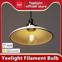 Yeelight ampoule a Filament LED intelligente YLDP12YL 700 lumens 6W citron ampoule intelligente fonctionne avec Apple homekit