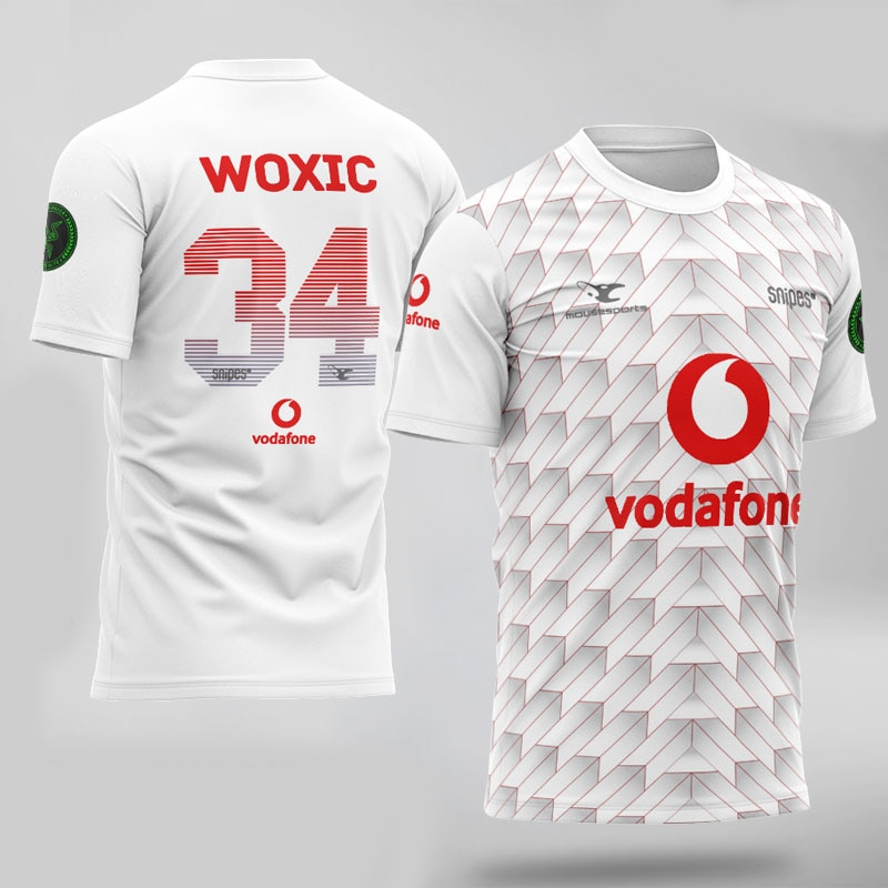 Qualidade superior mousesports camisa woxic ropz chrisj fãs tshirt nome personalizado e numners camiseta homme
