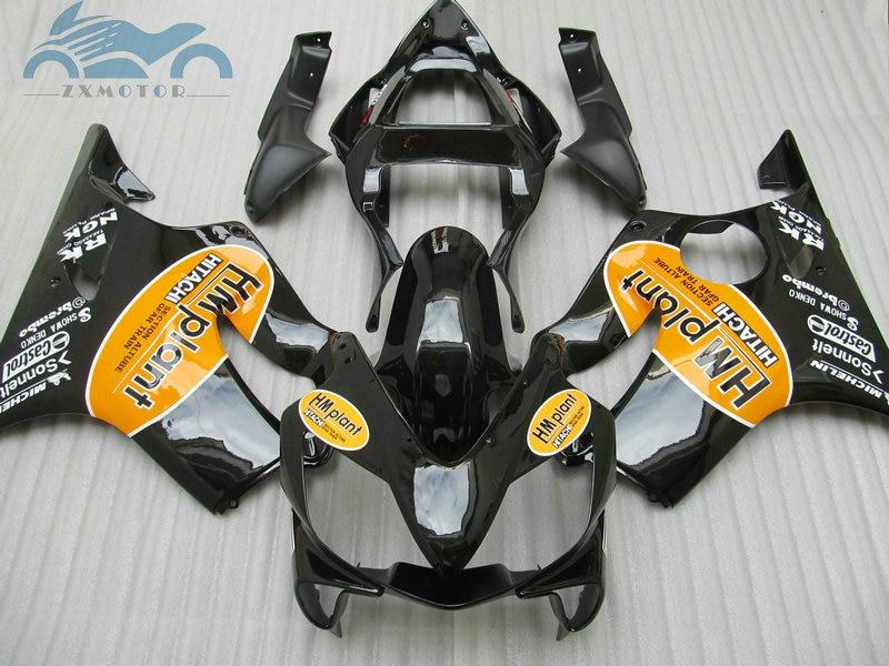 Kit de carpette dinjection pour Honda CBR   600F4i 2001 2002 CBR600F4i 01 02 03, kits de carpette en ABS du marché secondaire, carrosserie LD37