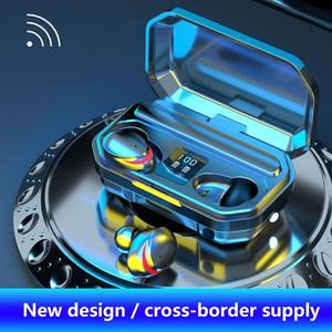 M15 TWS Touch Wireless Bluetooth 5.1 In-ear Earbuds 9D Noise Reduction Stereo Headsets Sport Dual Host Earphones Charging Bin