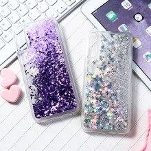 Liquid Glitter Case For Samsung A50 A70 A50 A10 A20 A30 M20 M30 J6 2018 M10 Case Silicon Coque For Samsung Galaxy A50 2019 Cover