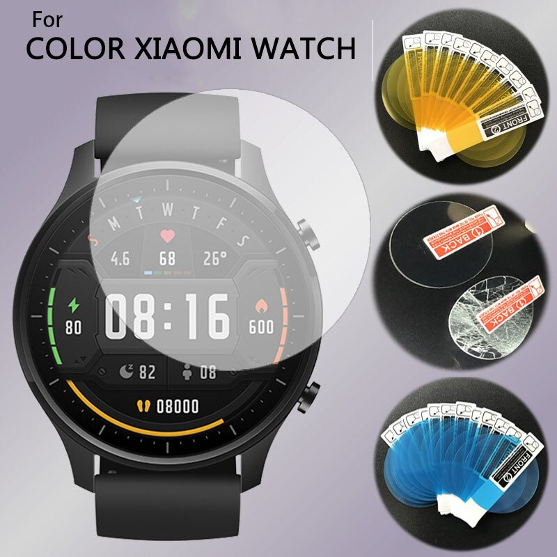 HD Screen Protector For Xiaomi Mi Watch Color Strap MiWatch Smart Watch Full Soft Protective Glass For Xiaomi Mi Watch Film