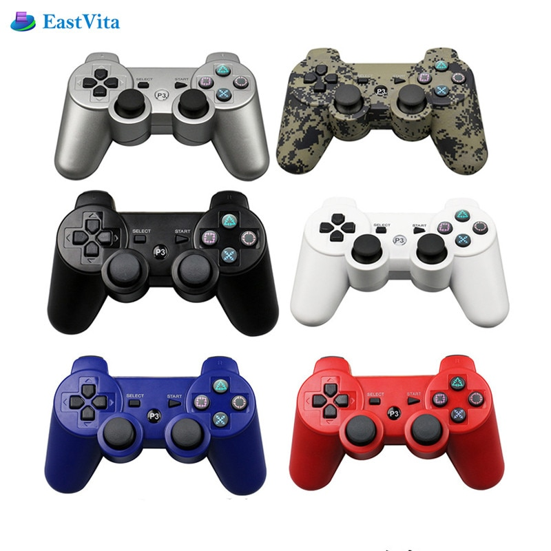 Kablosuz Bluetooth Gamepad Joystick Playstation 3 için Dualshock denetleyicisi için Sony PS3 oyun pedi Play Station 3 konsolu