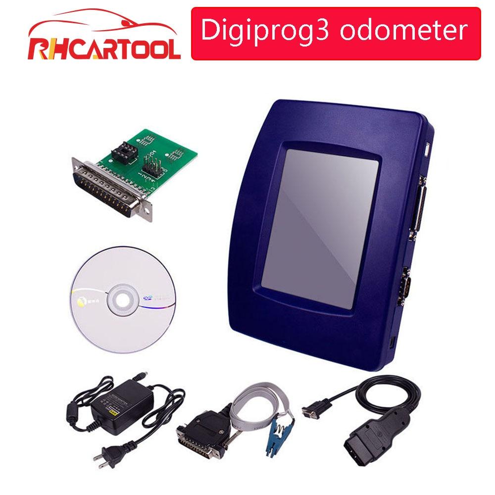 Digiprog DIGIPROG 3 OBD versión V4.94 FTDI Chip (USB) odómetro corrección Digiprog III ST01 ST04 Ajuste de kilometraje de Cable