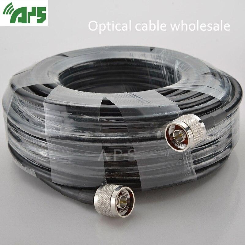 Venta al por mayor Cable Coaxial 5D de alta calidad N macho a N macho para repetidor de señal potenciador y Antena