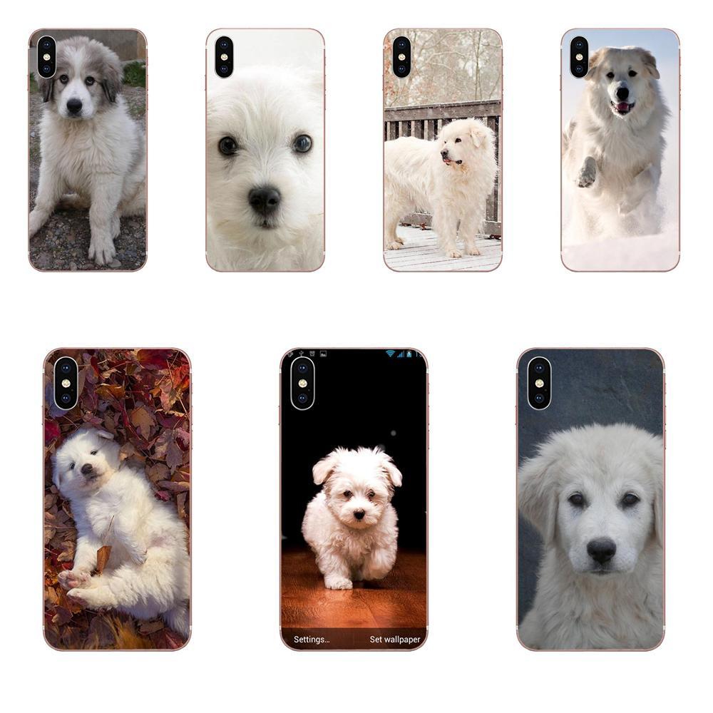 Gran Pirineos cachorro perro en granja TPU caso para Galaxy Nota 10 Pro A10 A20 A20E A30 A40 A50 A60 A70 A80 A90 M10 M20 M30 M40