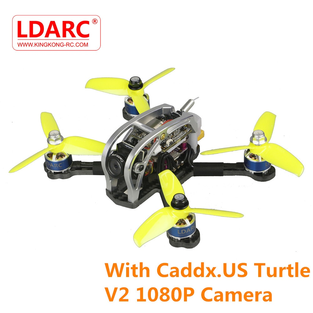 LDARC 130GTI-HD 133mm F4 OSD 3-4S FPV Racing Drone Quadcopter de Multicopter PNP BNF modelo w/ ¡Caddx! cámara US tortuga V2 1080P