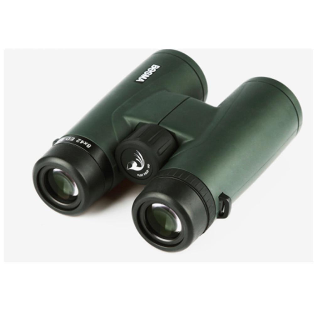 Bosma 8X42 Binoculars ED Lens Super Wide-angle Flat Field Waterproof Travel Viewing Professional Bird Mirror
