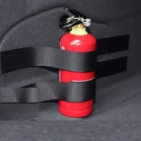 automobile trunk fire extinguisher strap vehicle luggage and sundries storage strap fixed nylon velcro strap