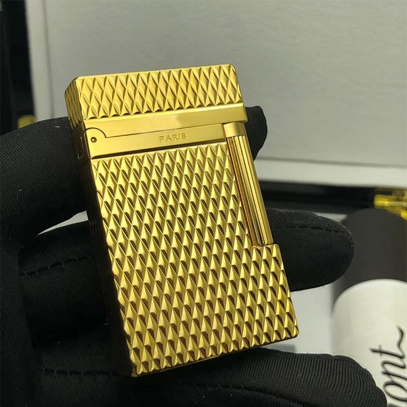 100% brand new made in China retro original DuPont bright sound lighter windproof lighter electronic lighter