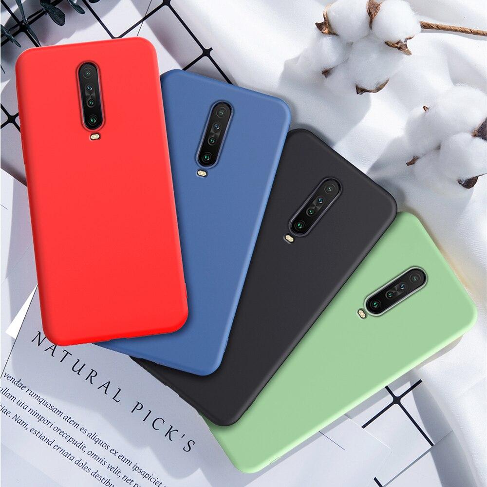For Xiaomi Redmi K30 Pro Case Cover for Xiaomi Redmi K30 Phone Case Shell Original Liquid Silicone Case For Xiaomi Redmi K30 5G