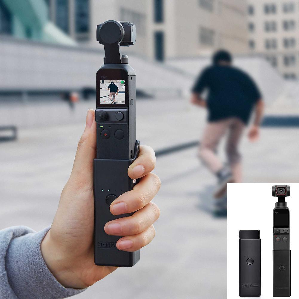 Портативное зарядное устройство для DJI Osmo Pocket 2, портативное зарядное устройство для мобильного телефона, Спортивная экшн-камера, аксессуар...