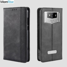 Luxury Retro Slim Magnetic Leather Flip Cover For Oukitel K12 2019 Case Book Wallet Card Stand Soft