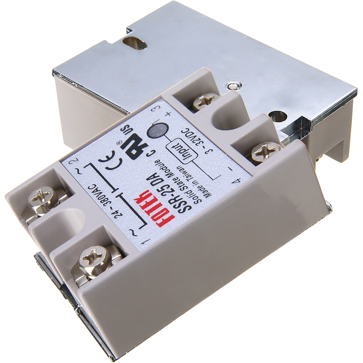 24-380V Output Voltage 25A SSR-25 DA Solid State Relay For PID Temperature Controller Electrical Equipments