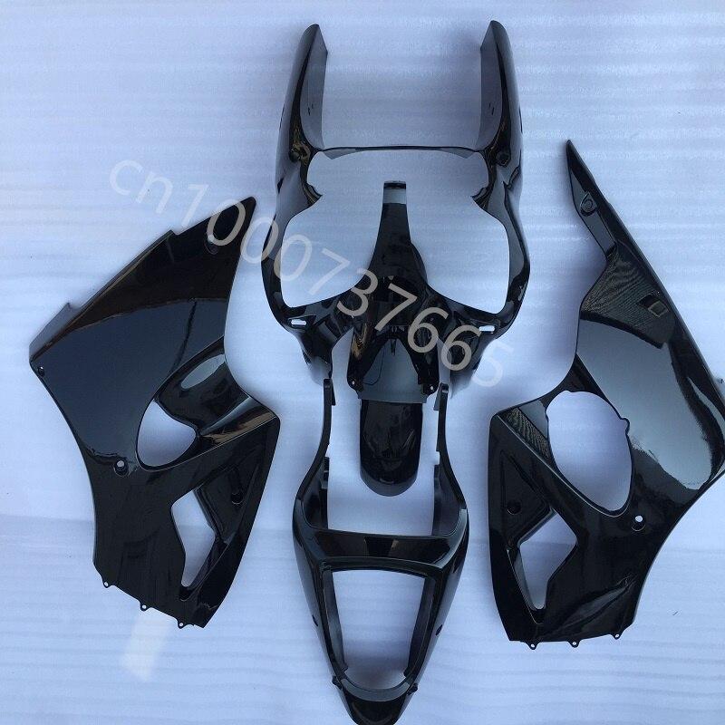 كامل أسود حقن ABS هدية عدة هيكل السيارة لكاواساكي النينجا ZX6R 00 01 02 النينجا ZX6R 2000-2002Ninja ZX6R00-02 هدية