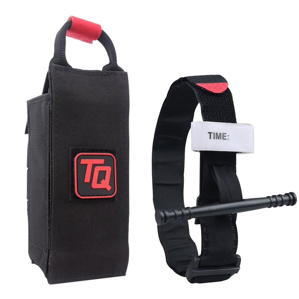 CAT Tourniquet Molle Bag Outdoor First Aid Outdoor Survival Portable Emergency Tourniquet Strap Hiking Medical First Aid Quick