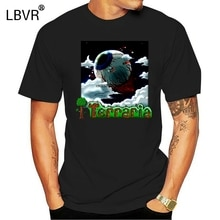 Dzieciak Vintage Terraria oko Cthulhu T-shirt granatowy M