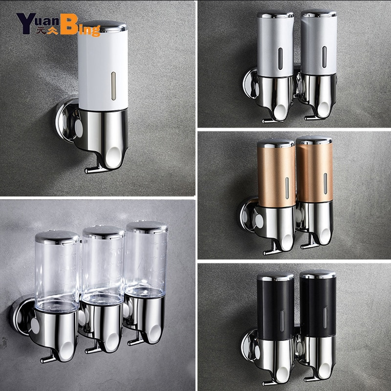 Soap Dispenser Wall mounted Bathroom Hand Washing Liquid Sanitizer Kitchen soap dispenser Stainless