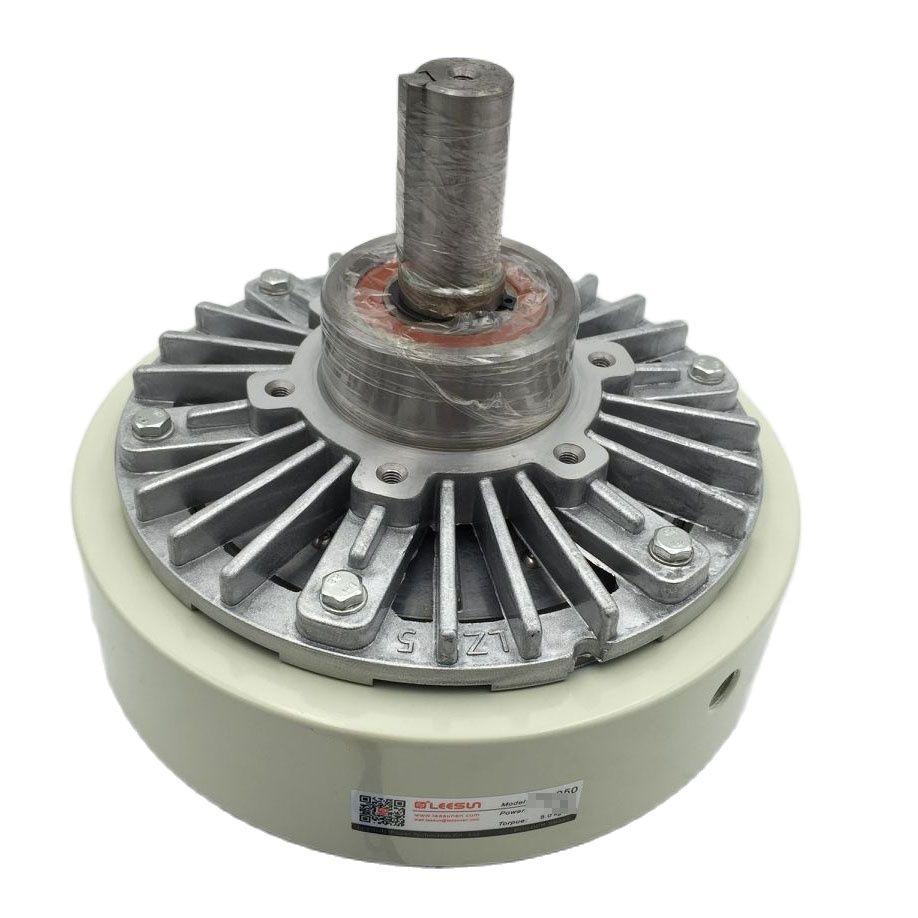PB-100 100Nm المغناطيسي مسحوق الفرامل DC24V 1800 دورة في الدقيقة مركز المسافة 140 مللي متر رمح واحد 30 مللي متر لآلات التعبئة والتغليف