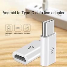 Adaptateur mâle mi cro USB femelle à Type C pour Letv Xiao mi 5X Oneplus Samsung S8 Plus FKU66