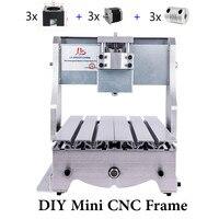 DIY 3020 3axis 3 axis Mini CNC Frame of CNC Rounter Engraver Milling Machine