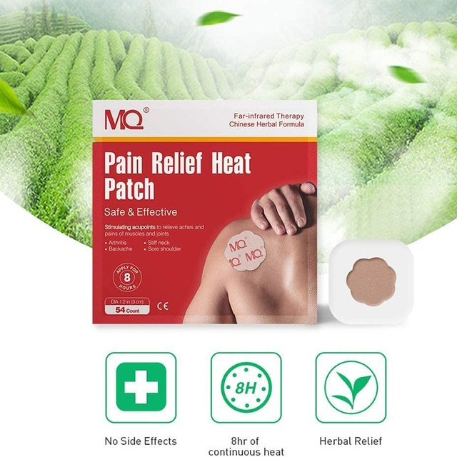 54pcs analgesic patch stimulates acupoints to relieve pain in the neck, shoulder, back, hip joint muscles, knees and feet 2