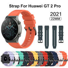Ремешок силиконовый для Huawei Watch Gt 2 Pro, оригинальный спортивный сменный Браслет Для Huawei Gt2 Pro, 22 мм