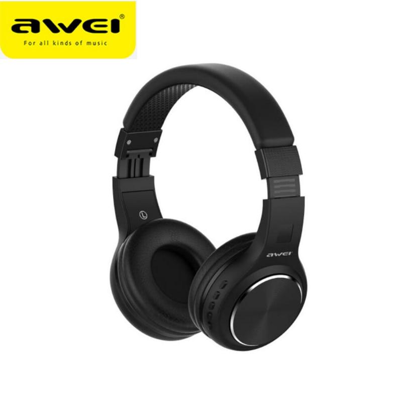 Awei-auriculares con bluetooth A600BL, auriculares originales con ANC, reducción de ruido, auriculares Auriculares inalámbricos con bluetooth con micrófono, manos libres