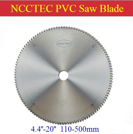 Hoja de sierra de carburo de 14 -20 para cortar PVC, plástico, policarbonato, plexiglás, perspex, acrílico   disco de corte de 355-500mm