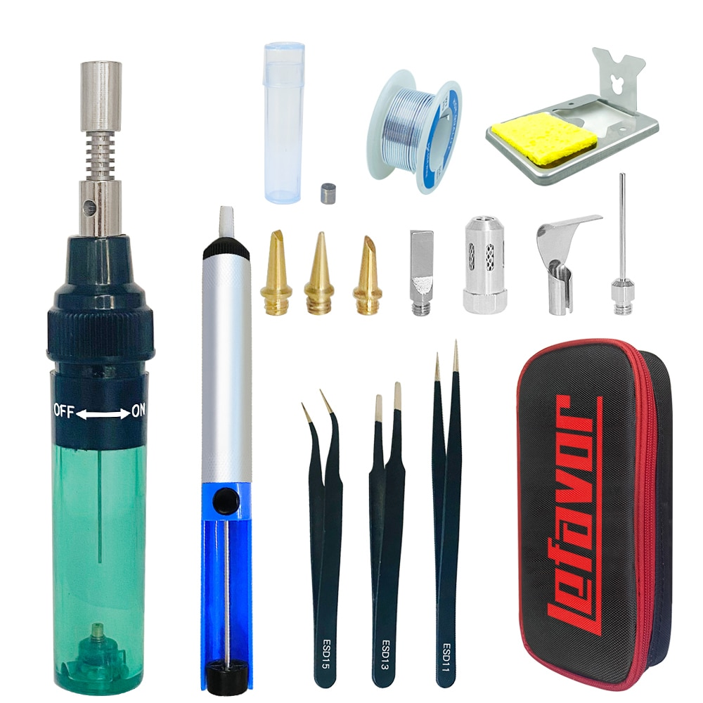 1300 Celsius Butane Gas Welding Soldering Irons Welding Pen Burner Blow Torch Gas Soldering Iron Cordless Butane Tip Tool