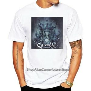 Camiseta Cypress Hill Elefantes Em ácido Preto 2021 Leisure Fashion T-shirt 100% Cotton