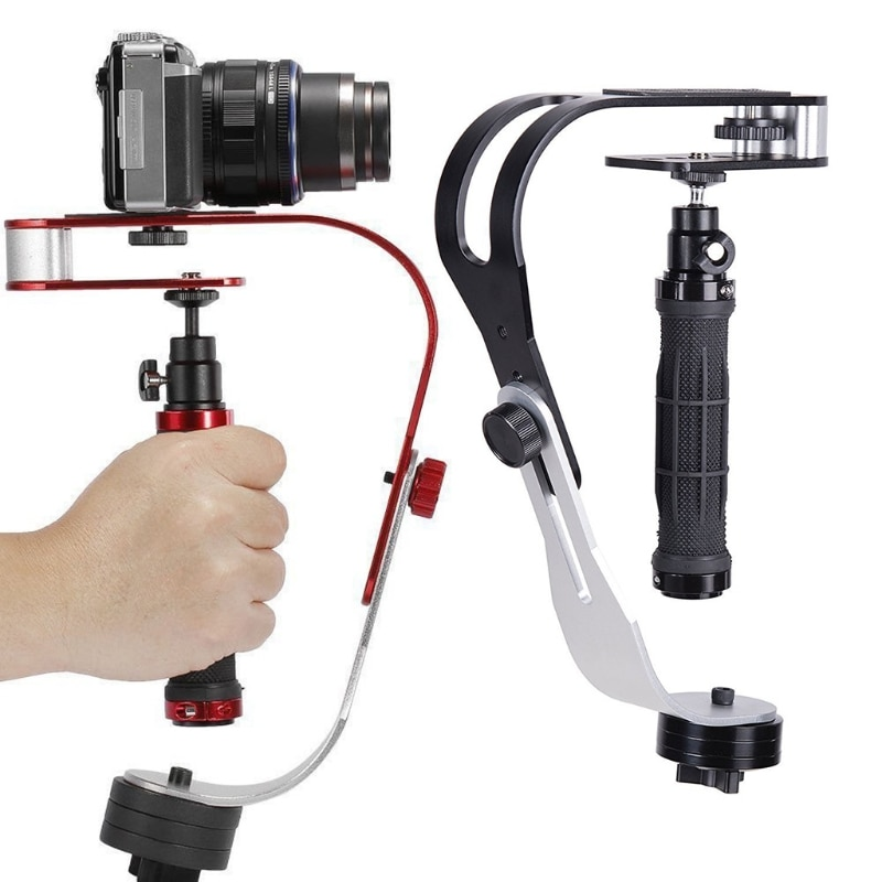 Aluminum Handheld Digital Camera Stabilizer gimbal smartphone DSLR 5DII Motion camera Steadycam for camera phone