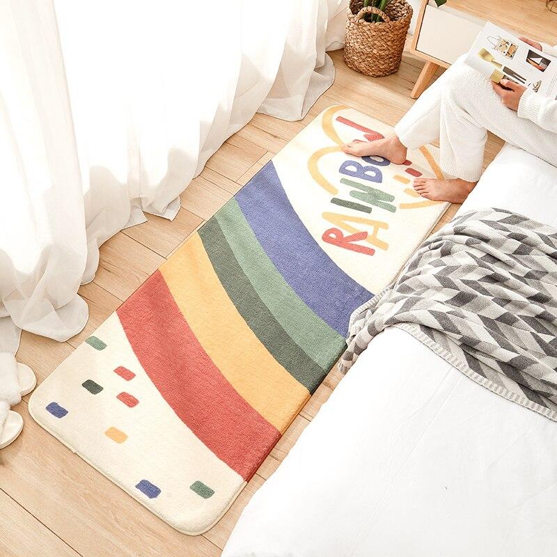 الكلمة حصيرة امبسوول غرفة نوم السرير مغطاة بالكامل قطاع المنزل طاولة القهوة لغرفة المعيشة السجاد غرفة الأطفال الحصير السجاد