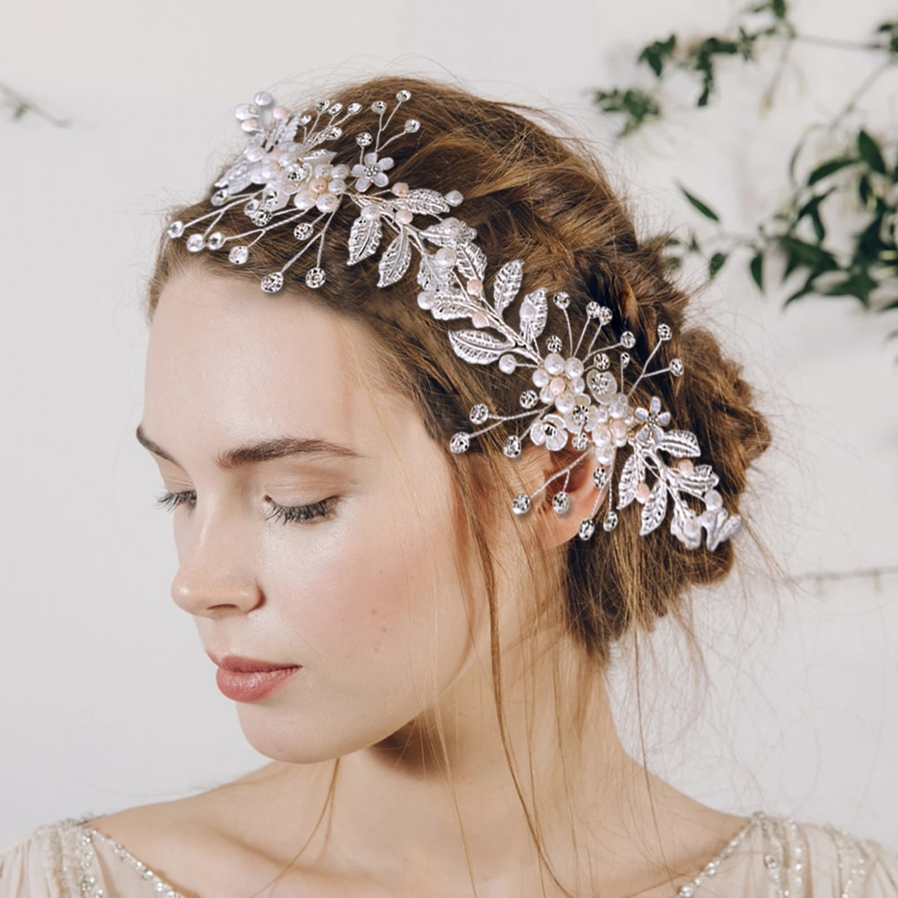 HP323-إكسسوارات شعر الزفاف البوهيمية ، عصابات الرأس ، إكليل الجنية الفائق ، مجوهرات الزفاف ، بيع بالجملة