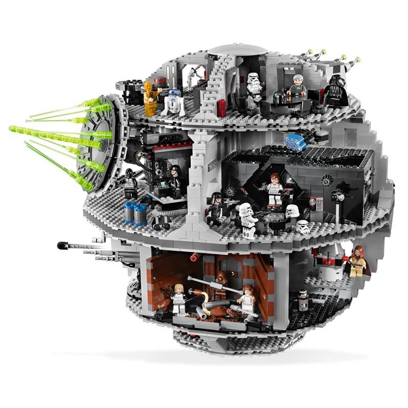 05035 05063 Star Plan Wars The 10188 Death Star 3 Building Block Bricks Toys Lepining 75159 Kid Toys for Children Christmas Gift