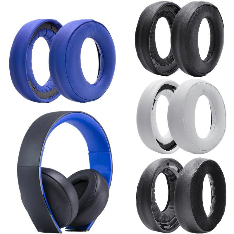 Earpads Headband for Sony Gold Wireless headset PS3 PS4 7.1 Virtual Surround Sound CECHYA-0083 headphone
