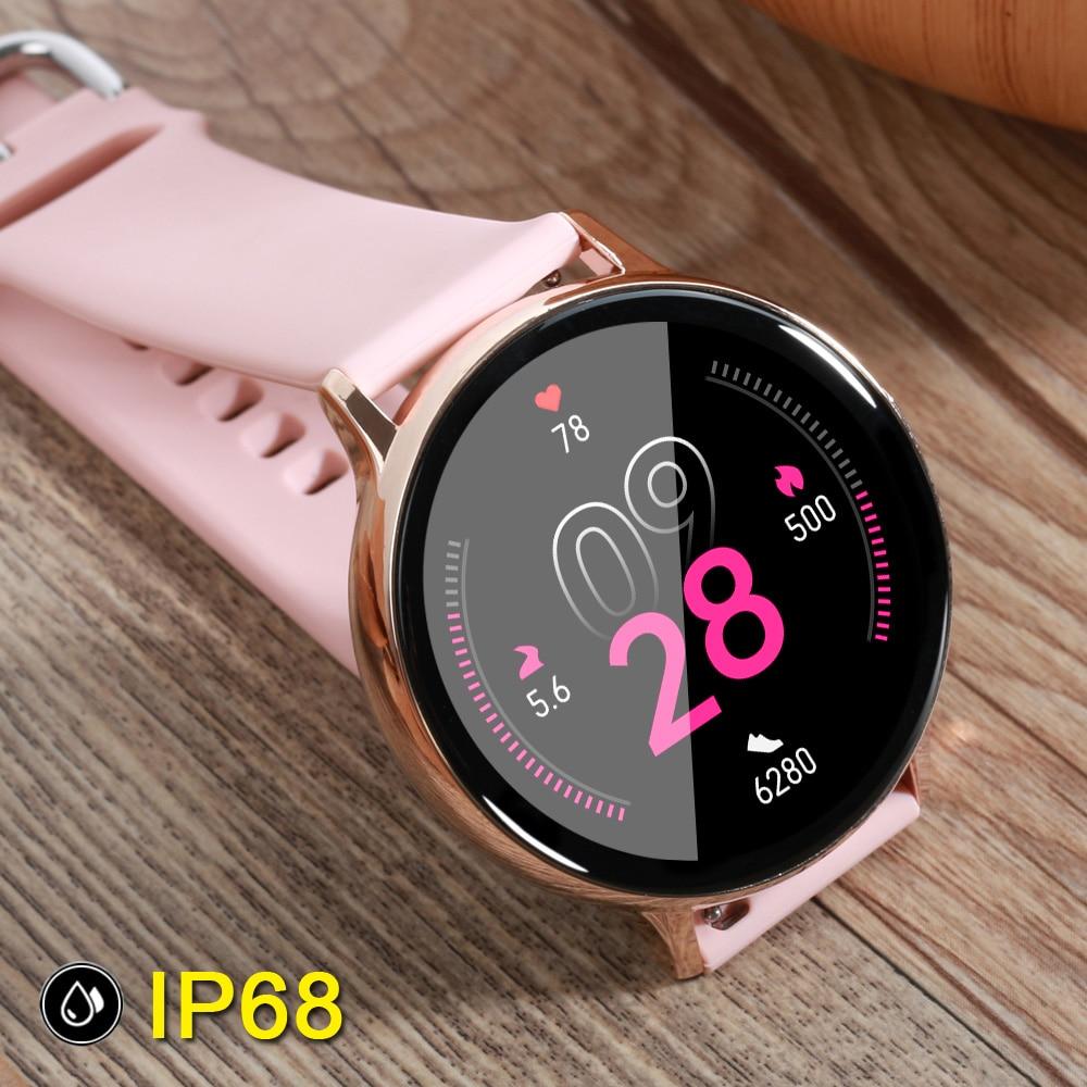 GW-32 ساعة ذكية الرجال IP68 مقاوم للماء ضغط الدم أنيق البساطة Smartwatch النساء معدل ضربات القلب المقتفي شاشة تعمل باللمس الكامل