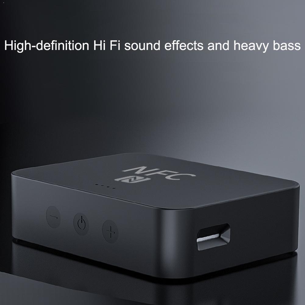Adaptador de Audio inalámbrico EDR con Bluetooth 5,0, con receptor de Audio estéreo para coche, PC de 3,5mm y Cable RCA para auriculares y música M1B0