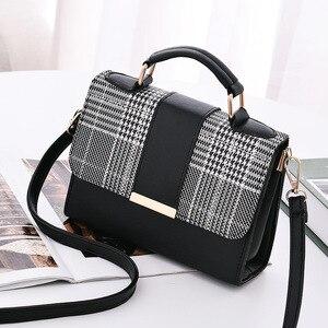 Female Shoulder Bags Small Luxury Leather Crossbody for Women Brand Mini Casual Fashion Kawaii Vintage 2021 Trend Handbag
