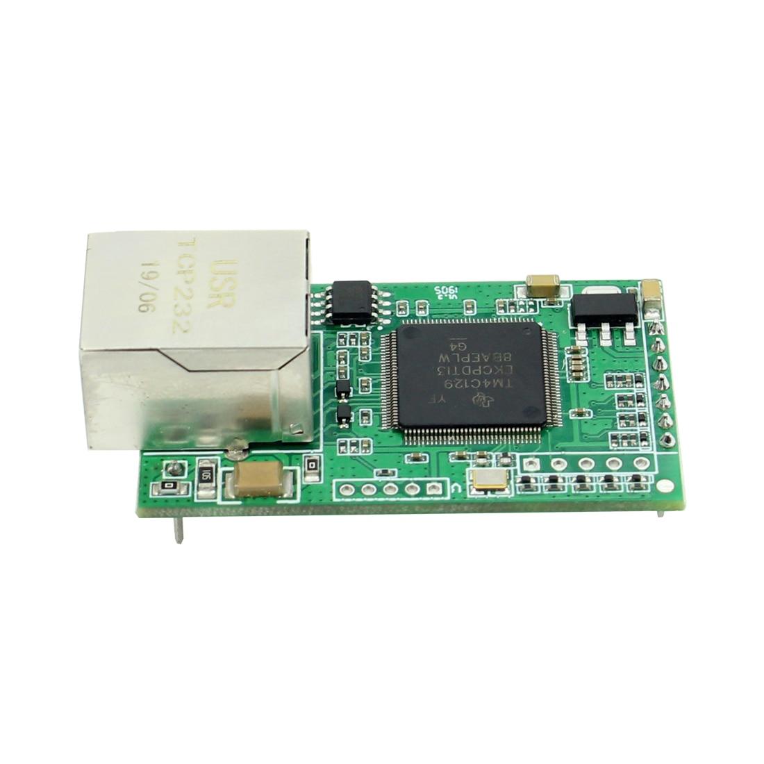 USR-TCP232-E2 دبوس نوع المسلسل UART TTL إلى LAN إيثرنت وحدة --- 2 المنافذ التسلسلية