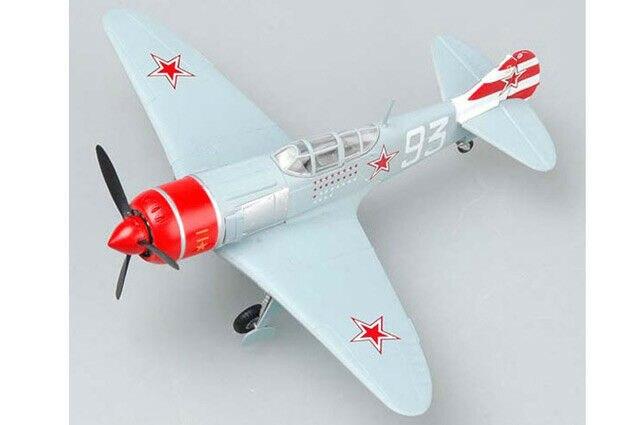 В американском стиле, имеется в наличии на складе 36332 1/72 модель Easy Model-ла-7 белый 93 Warcraft Propellerplane самолет TH07402-SMT2