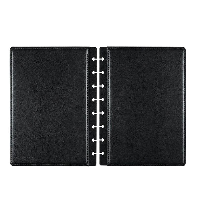 Fromthenon A4 A5, cubierta personalizable de cuero con águila para cuaderno con agujero en forma de seta, suministros para álbum de recortes