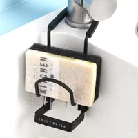 Evier Caddy evier Durable  petite cuisine salle de bains en metal organisateur liquide egouttoir a vaisselle robinet Rack douche pratique