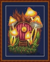 zz1358 diy homefun cross stitch kit packages counted cross stitching kits new pattern not printed cross stich painting set
