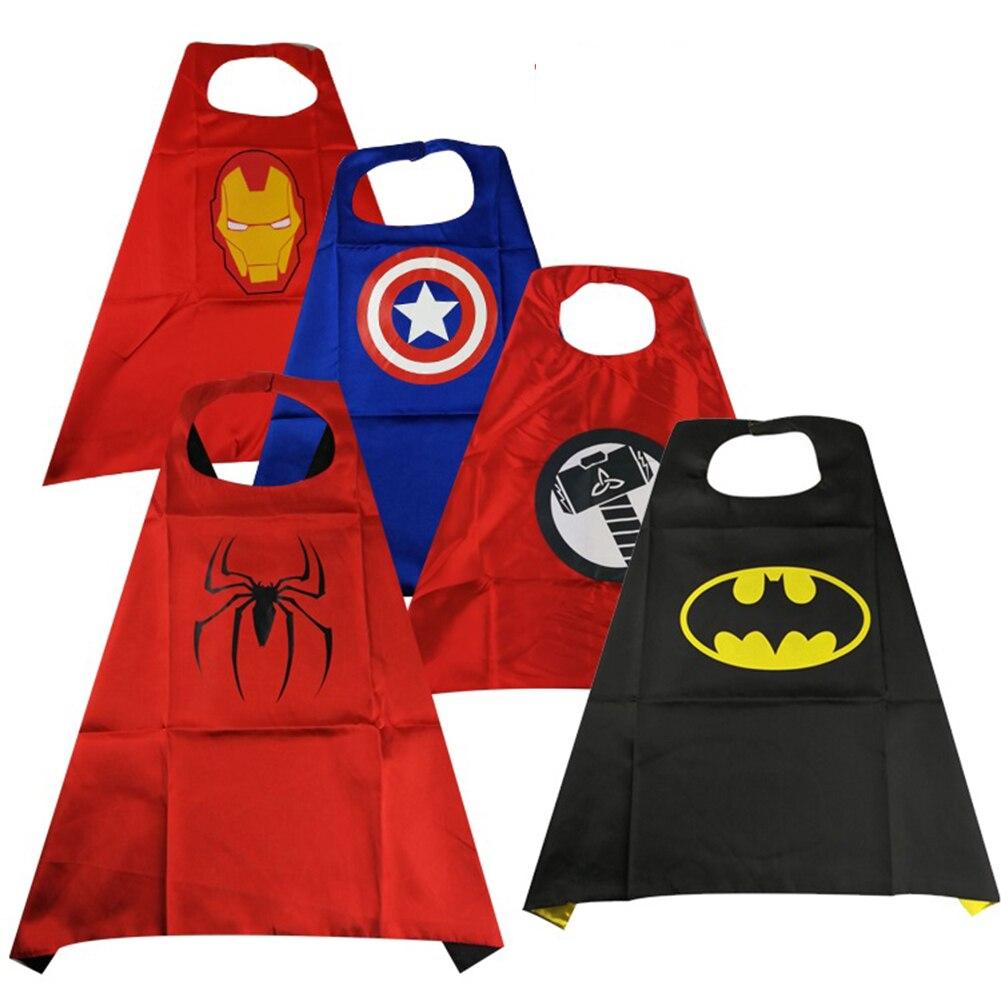Infinito vingadores superheroes cosplay capa e máscara spiderman capitão américa ironman batman cosplay trajes máscara de luz