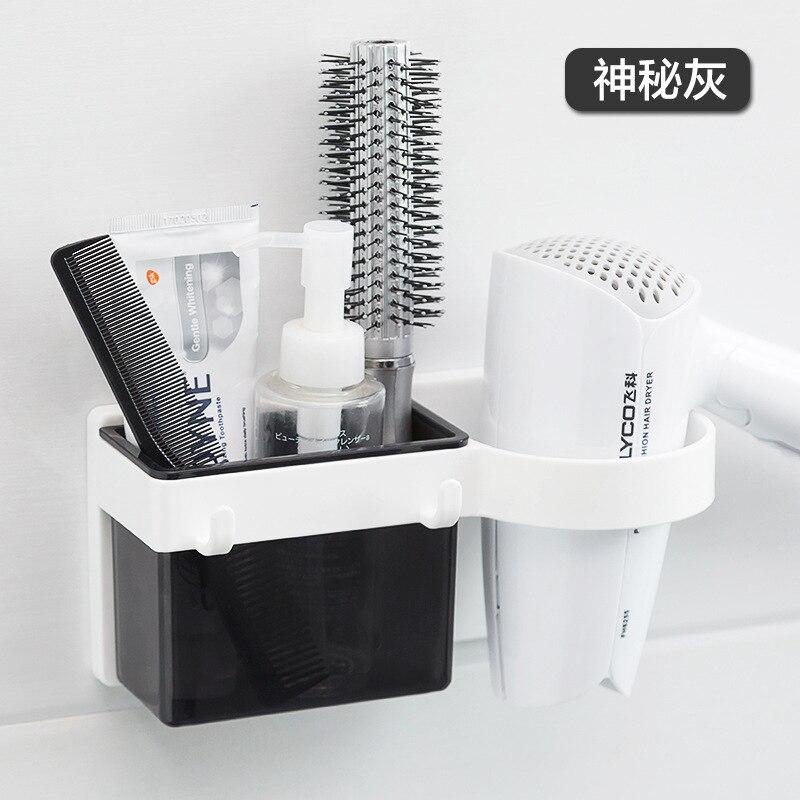 Secador de pelo para baño, Accesorios de baño, organizador, estante de almacenamiento...