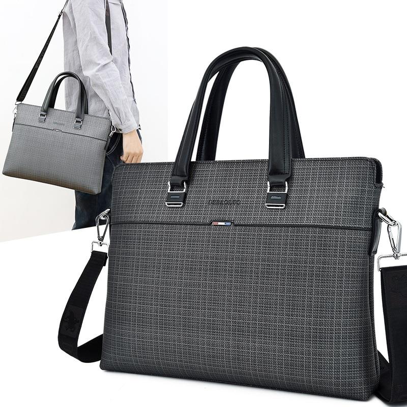 Scione, bolsos de negocios para Hombre, bolsos cruzados de cuero A4 para Hombre, Bolso de hombro, Bolso de mano para Hombre, Bolso de oficina para Macbook