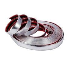 3M 20 мм хромированная формовочная декоративная клейкая лента из ПВХ для стайлинга автомобилей