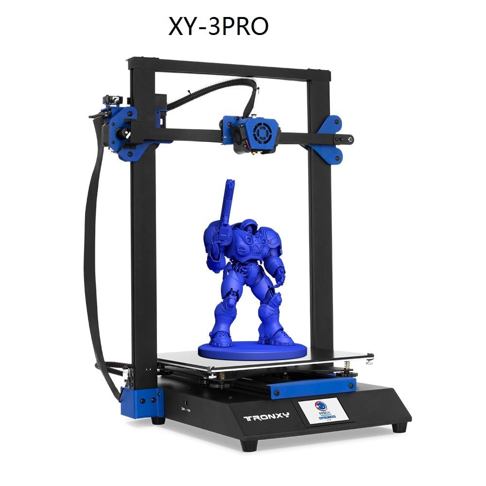 Resume Power Ultra-quiet Double Z Motor Quiet drive mainboard Glass Plate 300*300mm impressora 3d Printer Diy Kits XY-3 PRO
